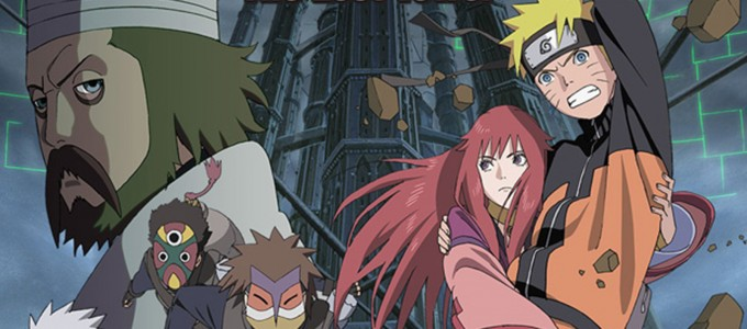 Naruto Shippuuden The Lost Tower